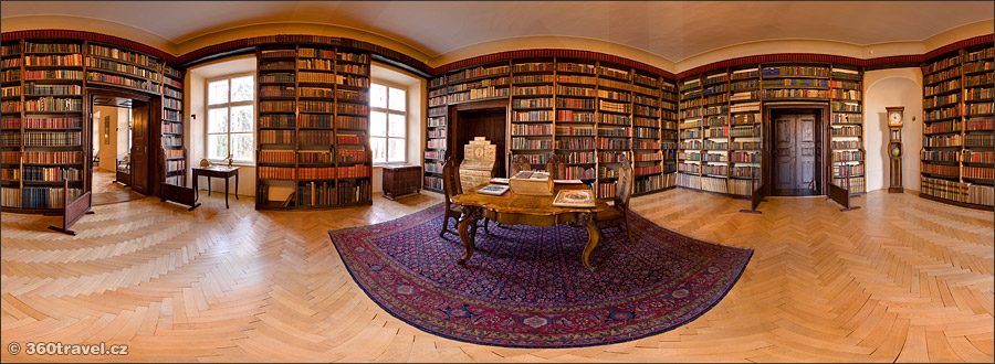 Play virtual tour - Chateau Library