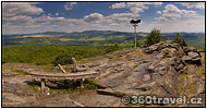Play virtual tour - Bořeň Mountain Summit