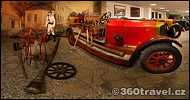 Play virtual tour - Firefighter Car