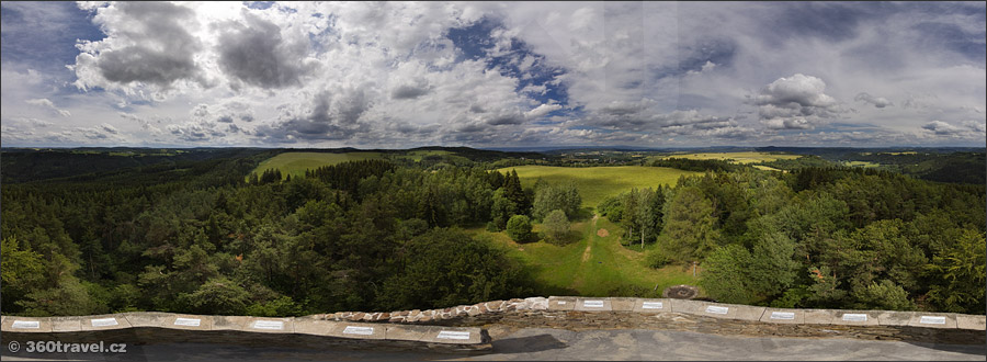 Play virtual tour - Lookout Tower view