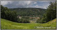 Show the Ore Mountains
