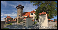 Play virtual tour - Hněvín Castle