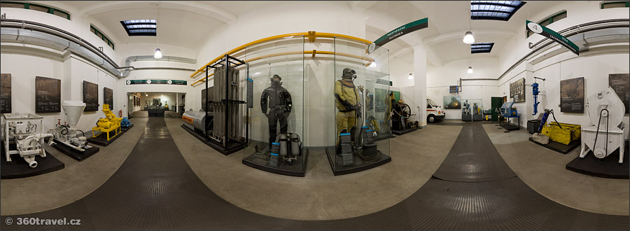 Play virtual tour - Mining Rescuers Exposition