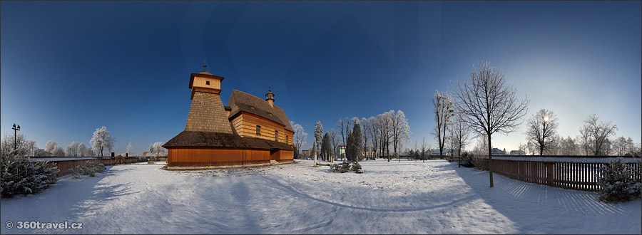 Play virtual tour - Wooden Church of St. Katherine