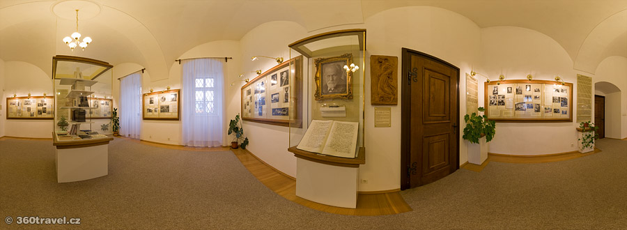 Play virtual tour - S. Freud Memorial Hall