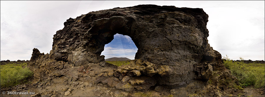 Play virtual tour - Gatklettur Arch