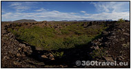 Play virtual tour - Lava Field Rim