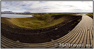 Play virtual tour - Pseudocraters at Skútustadir