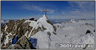 Play virtual tour - Gerlach Peak in Winter