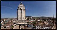 Play virtual tour - Grossmünster Tower View